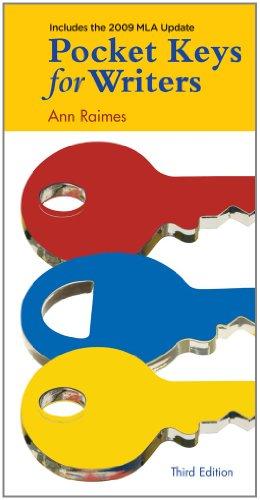 Pocket Keys for Writers, 2009 MLA Update Edition