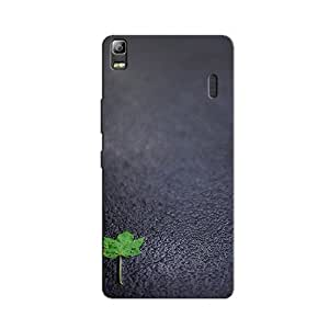 ABSTRACT LEAF BACK COVER FOR LENOVO K3 NOTE