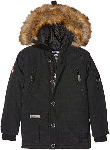 geographical-norway-boeing-parka-garcon-noir-fr-10-ans-taille-fabricant-10-ans