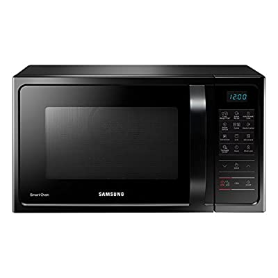 Samsung MC28H5023AK/TL 28-Litre 2900-Watt Convection MWO with Slim Fry Microwave Oven (Black)