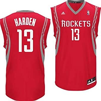 James Harden Houston Rockets Red NBA Kids Revolution 30 Replica Jersey by adidas