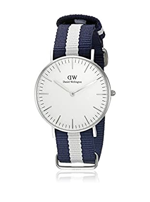 Daniel Wellington Reloj con movimiento cuarzo japonés Woman Classic Glasgow blanco/gris 36 mm