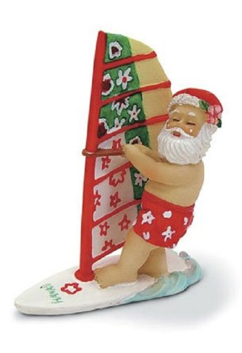 Island Heritage Windsurfing Santa Ornament