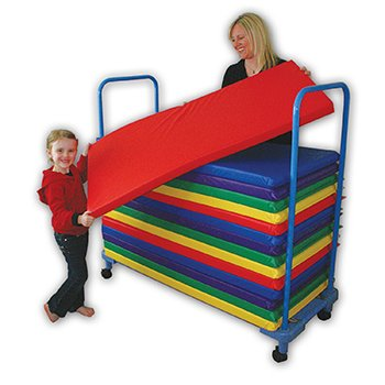 Kinder Rainbow Designer Mat Green 22 X 48 X 2 - 1