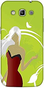 Snoogg abstract illustration Hard Back Case Cover Shield For Samsung Galaxy Grand Quattro Win I8550