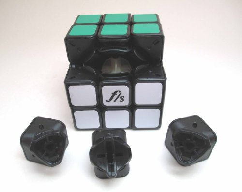 FangShi (Funs) Shuang Ren 3x3 Black Speedcubing Puzzle 3x3x3 - 1