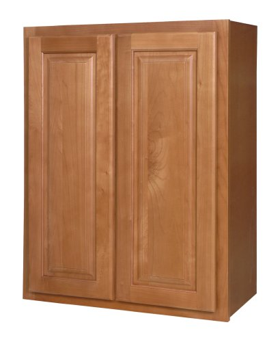 Kraftmaid kitchen cabinets all wood cabinetry w2430 wcn for 30 inch kitchen cabinets