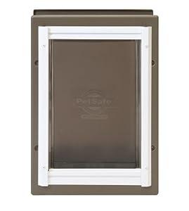 PetSafe PPA11-10916 Wall Entry Aluminum Pet Door, Medium