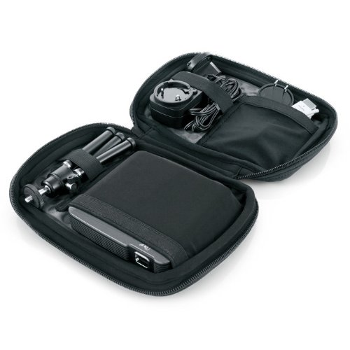 Travel Case & Tripod for Compact 85-Lumen Pocket Projector