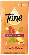 Tone Cocoa Butter Mango Splash with Vitamin E Bath Bar 4.25