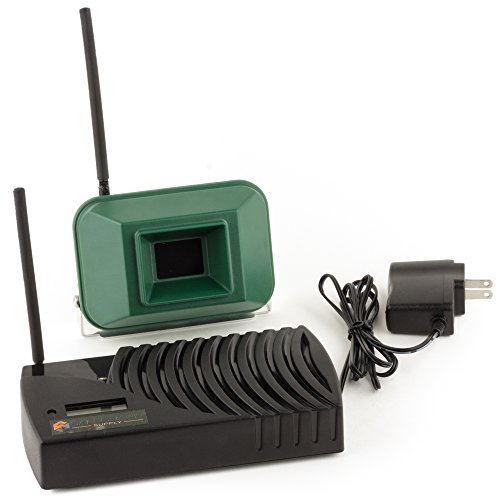 Driveway Informer Wireless Driveway Alarm-USA Made Driveway Alarm Long Range 1000' Transmitter & Receiver Included In Kit-Driveway Alarm Sensor Detects Vehicles & People-Ideal for Home & Business (Long Range Driveway Alert System compare prices)