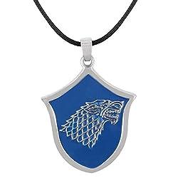 Game of Thrones House Stark Wolf Pendant - 2