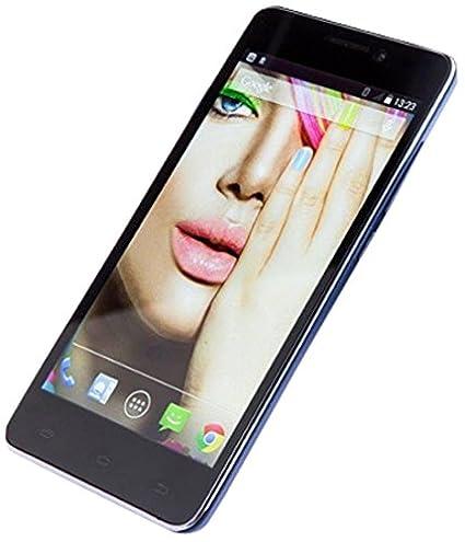 TvTech P024CG5A1 Smartphone débloqué (Ecran: 5 pouces - 8 Go - Double SIM) Bleu (import Europe)