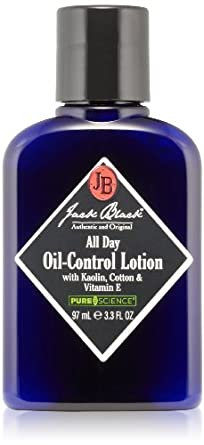 Jack Black All Day Oil-Control Lotion, 3.3 fl. oz.