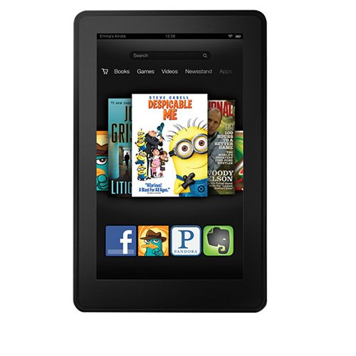 Kindle Fire 7, LCD Display, Wi-Fi, 8 GB - Includes Special Offers