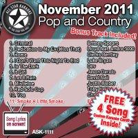 DeV - All Star Karaoke November 2011 Pop and Country Hits (ASK-1111) - Zortam Music