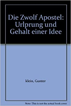 : Urlprung und Gehalt einer Idee: Gunter klein: Amazon.com: Books