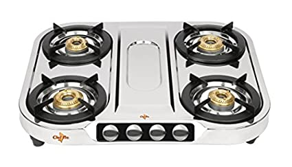 Chef-Pro-Stainless-Steel-SGS724-Gas-Cooktop-(4-Burner)