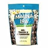 Mauna Loa Milk Chocolate Covered Macadamia Nuts, 6 oz