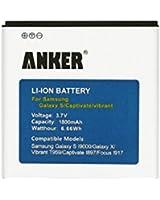 Anker® 1800mAh Li-ion Batterie pour Samsung Galaxy S,GT-I9000(non compatible avec Galaxy S2)