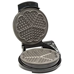 Chef's Choice 830 WafflePro Heart Waffle Iron: Kitchen & Dining from amazon.com