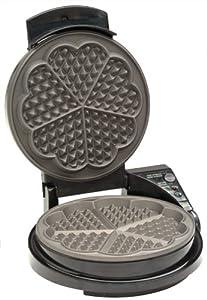 Chefs Choice Waffle Maker - 5 Hearts