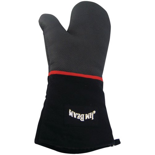 JIM BEAM JB0113 HEAVY-DUTY COOKING MITTEN WITH NEOPRENE