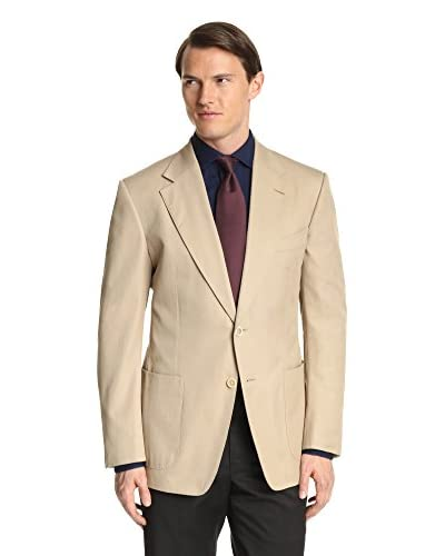 Tom Ford Men's Twill 2-Button Jacket