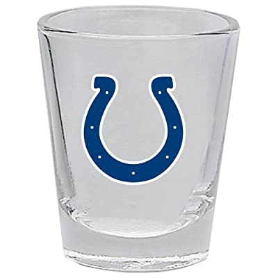 Hunter 1101-10-3132 Shot Glass, 2 oz. Indianapolis Colts