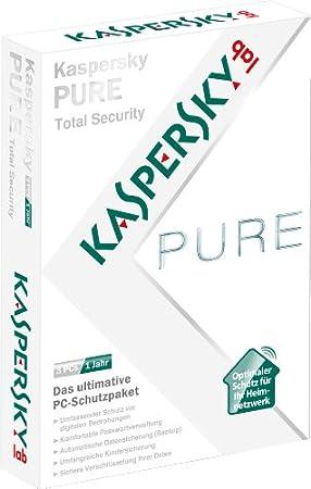 Kaspersky PURE Total Security 3 Lizenzen (automatisierte Aktualierung auf die neuste Version)
