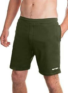 Yoga Crow Mens Swerve Shorts w/Odor-Resistant Inner Liner Large Nopal