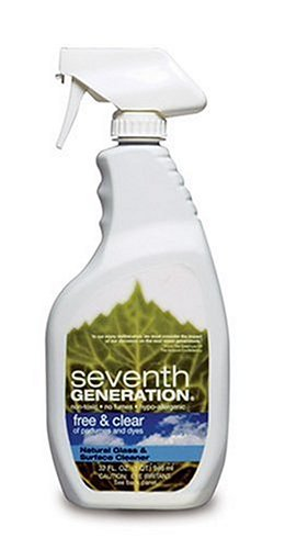 Seventh Generation, Free & Clear Glass & Surface Cleaner 32 Ounces