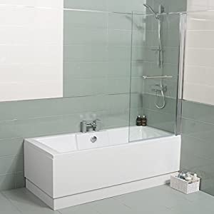 bath shower tub 1600 x 700 corner single ended white