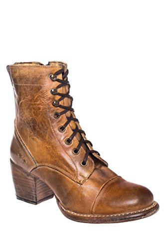 Judgement Lace-Up Mid-Heel Bootie