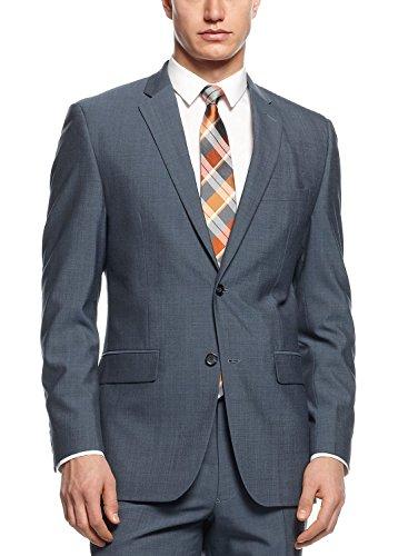 Alfani-Red-Slim-Fit-Blazer-Navy-Solid-Wool-Blend-New-Mens-Suit-Sep