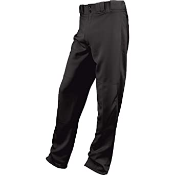 Easton Boys' Youth Rival Baseball Pants (Black, Youth Small)