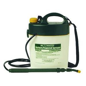 Portable Battery-Powered Sprayer in Black / White