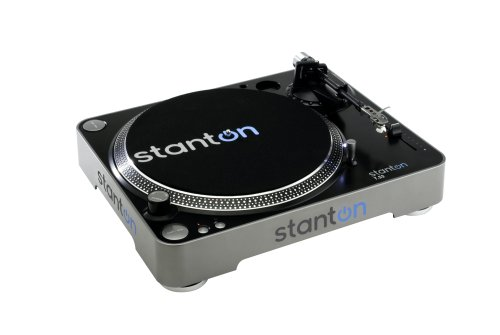 Great Features Of Stanton T52B Straight Arm Belt-Drive Turntable with 500.v3 Cartridge Pre-Mounted