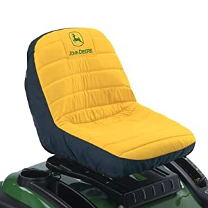 "John Deere Original Lawn Mower or Gator 15"" Seat Cover (Medium) #LP92324 by John Deere"