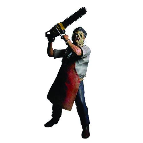 "Mezco Toys Cinema of Fear: 12"" Leatherface Action Figure"