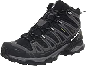 Salomon Men's XA Pro 3D Ultra 2 GTX Running Shoe,Black/Autobahn/Detroit,11.5 M US