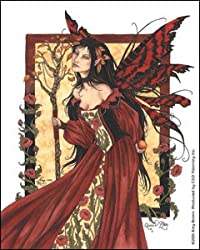 Amy Brown Artist Sticker - Fairies/Fantasy - Queen Mab