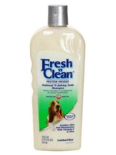 Fresh 'n Clean® Oatmeal & Baking Soda Shampoo, Tropical Scent, 18oz 3-Pack (Baking Soda Shampoo compare prices)