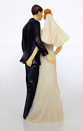 Sexy and Funny Sly Tender Touch Wedding Cake Topper
