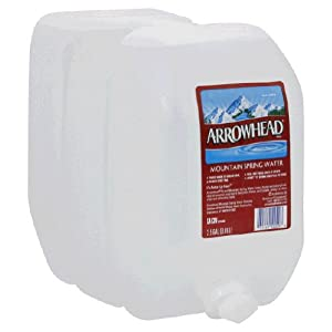 Amazon.com : Arrowhead Water Spring, 2.5-Gallon (Pack of 2) : Bottled