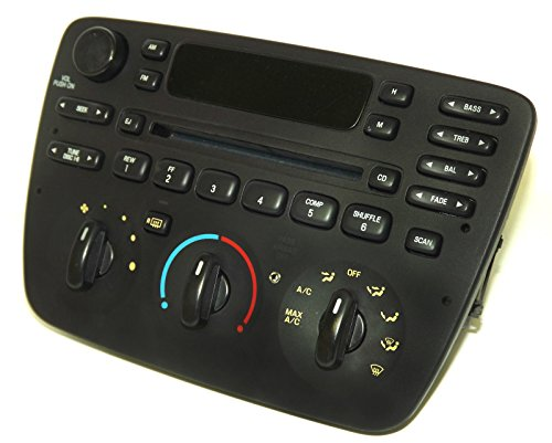 Ford Taurus Sable 04-07 AM FM CD Player Radio w Aux Input - 90 Day Warranty (Ford Cd Player compare prices)