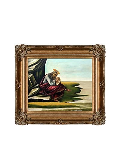Sandro Botticelli St. John On Patmos Reproduction Oil Painting