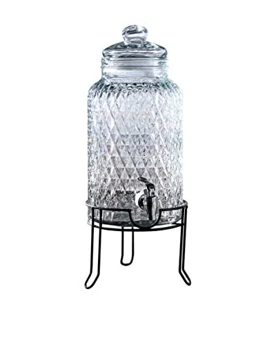 Style Setter 1.5-Gal. Quilted Beverage Dispenser with a Stand