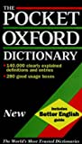 img - for The Pocket Oxford Dictionary of Current English book / textbook / text book