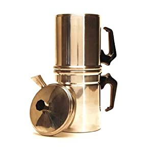 How To Use Napoletana Coffee Maker : Amazon.com: Classic Italian Coffee Maker (La Napoletana): Stovetop Espresso Pots: Kitchen & Dining